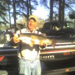 I caught this bass in a club tournament in January at Jackson Lake a few years ago