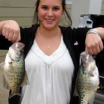Two nice Lake Conroe crappie