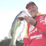 Boyd Duckett caught this nice bass at Demopolis when I fished with him