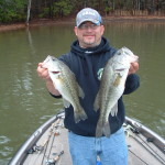 Two nice Lake Jackson  bass