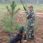 Rip loved to hunt - I really miss him