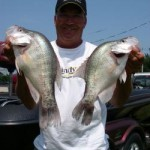 Barry Morrow will guide you to crappie like these