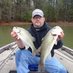 Bass like these helped me place third