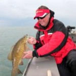 Big smallmouth can be caught
