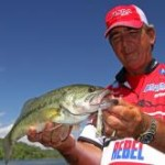 You can catch fish after a cold front on topwater