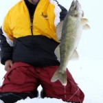 Use small lures for big walleye