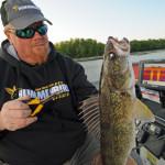 Use a good depthfinder to find walleye