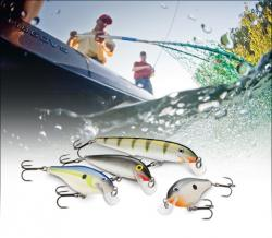 Rapala and VMC Lures make many go-to baits