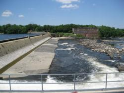 Holyoke Dam on the Connecticut River