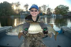 Catching a big muskie will put a smile on your face.