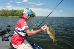 Weed mats are good targets for jigs