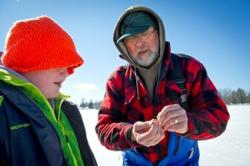 Sharing Ice Fishing Knowledge
