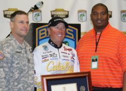 Walker gets award