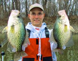 Nice spring crappie