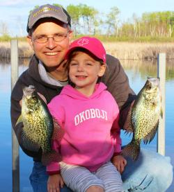 Take a kid crappie fishing