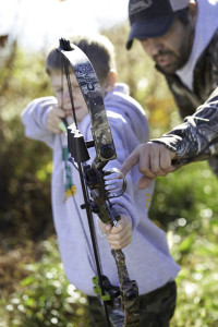 kids need their own hunting gear