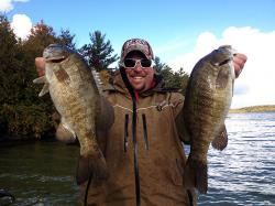Catch cold water smallmouth